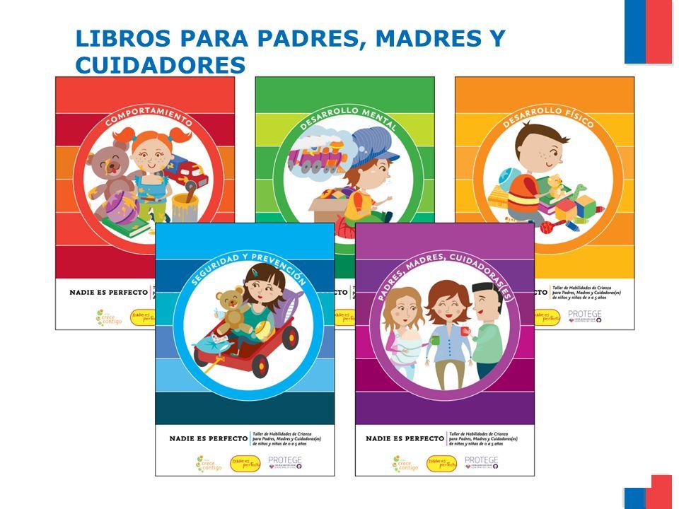 LIBROS PARA PADRES, MADRES Y CUIDADORES