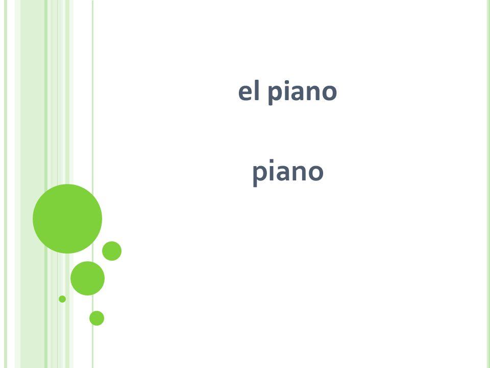 el piano piano