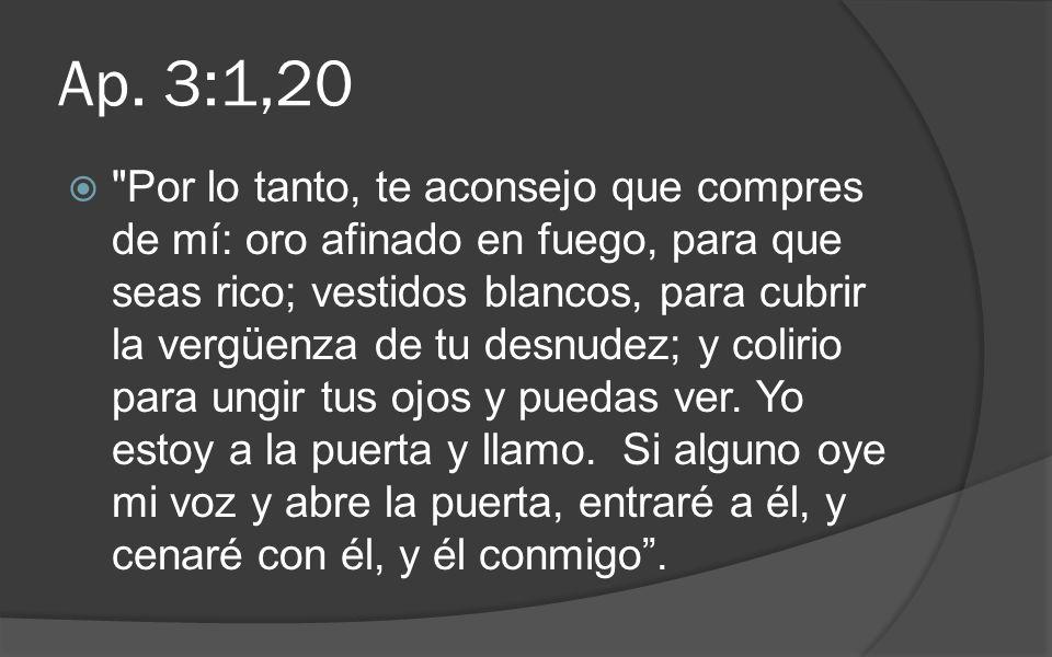 Ap. 3:1,20