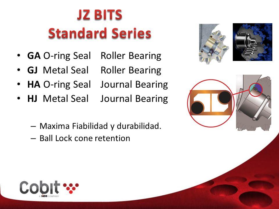 GA O-ring Seal Roller Bearing GJ Metal Seal Roller Bearing HA O-ring Seal Journal Bearing HJ Metal Seal Journal Bearing – Maxima Fiabilidad y durabilidad.
