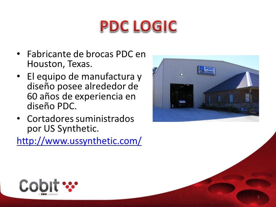 Fabricante de brocas PDC en Houston, Texas.