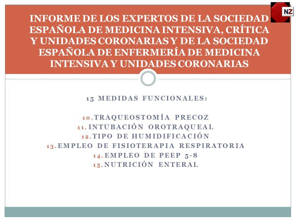 13 MEDIDAS MECÁNICAS: 1.CONTROL DE PRESIÓN DEL NEUMOTAPONAMIENTO DE LOS TUBOS 2.