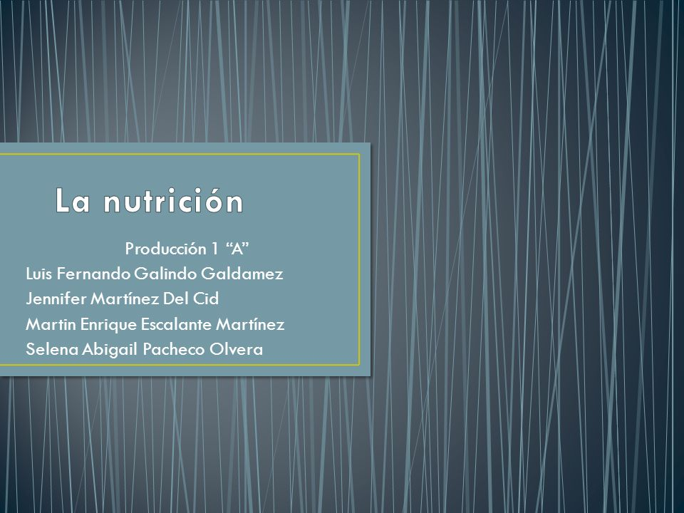 La nutrición es el concepto que hace referencia al proceso mediante el que el organismo toma los nutrientes de los alimentos a través de una serie de fenómenos involuntarios, como son la digestión, la absorción de los nutrientes a la sangre a través del tubo digestivo y la asimilación de los mismos por las células del organismo.