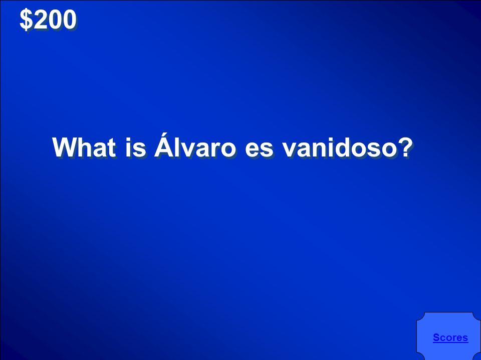 $200 Álvaro es _________.