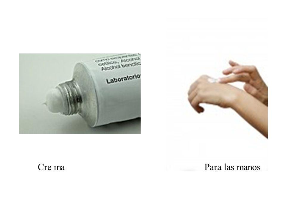 Cre maPara las manos