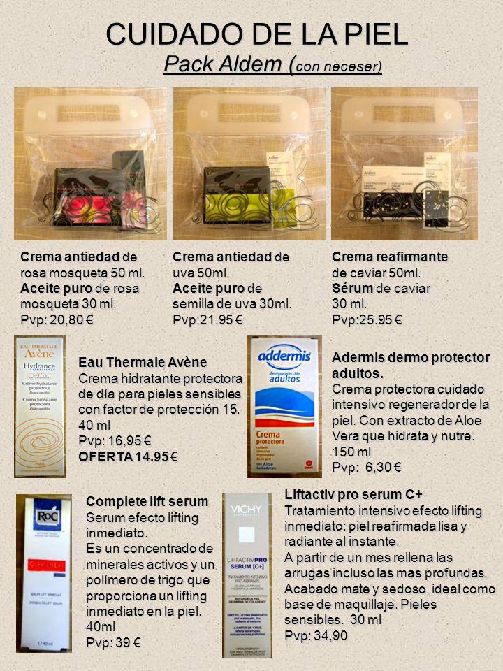 CUIDADO DE LA PIEL Pack Aldem ( con neceser) Crema antiedad de rosa mosqueta 50 ml.