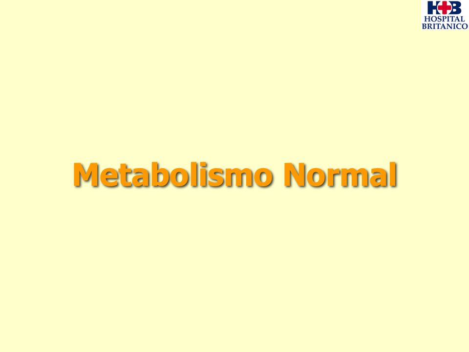Metabolismo en la Insuficiencia Renal Crónica