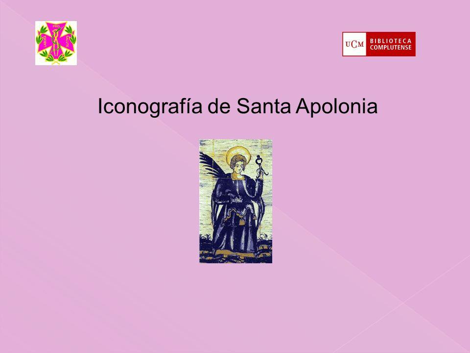 Iconografía de Santa Apolonia