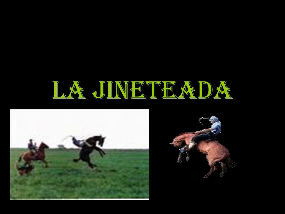 La jineteada