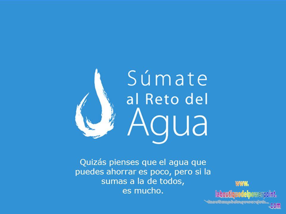 Corre la voz!! www.elretodelagua.com