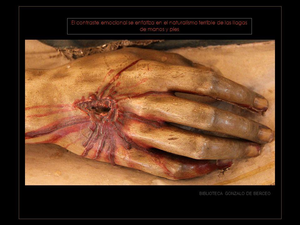 BIBLIOTECA GONZALO DE BERCEO gesto contenido, durmiente más que muerto, pero que trasluce el dolor sufrido