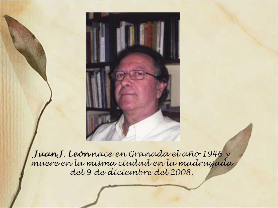 Fragmento de la columna que Gregorio Morales dedico a Juan J. León en el periódico Ideal el día 22.04.2008 Sólo los que han llegado lejos irradian cua