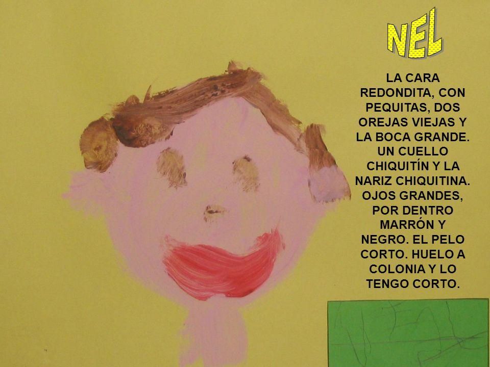TENGO EL PELO CASTAÑO, UN POCO RUBIO CON RAYITAS.OJOS MARRONES Y BLANCOS.