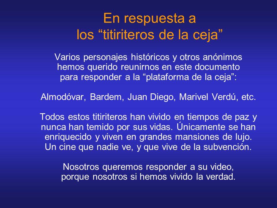 Hola, no me llamo Javier Bardem, me llamo Antonio Maura.
