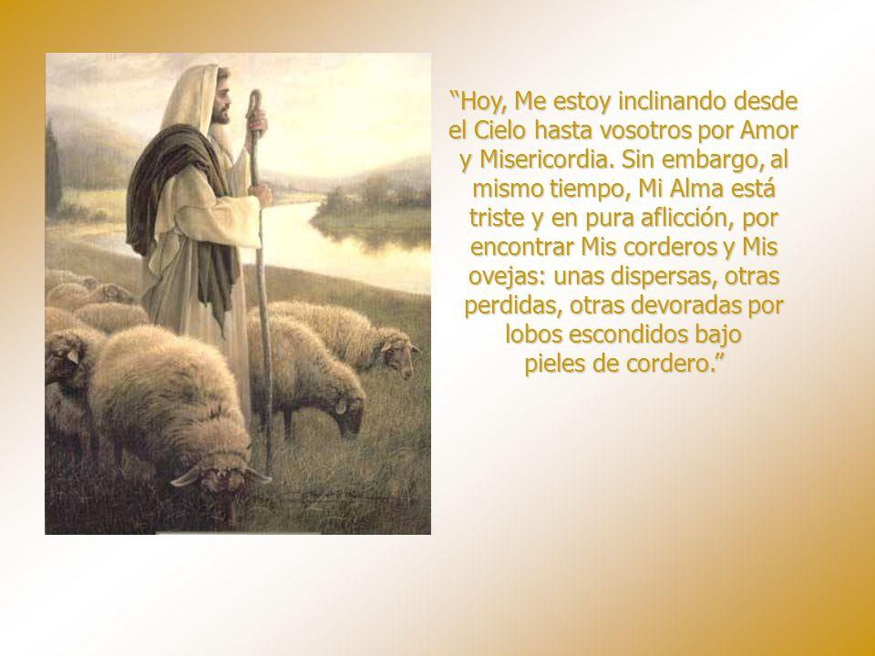 Yo, el Señor, tengo intención de desposaros en Mi Gloria, y hacerte a ti, generación, completamente Mía. Me propongo hacerte encontrar el Camino y gui