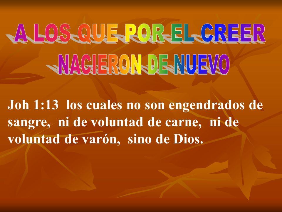 Joh 3:6 Lo que es nacido de la carne, carne es; y lo que es nacido del Espíritu, espíritu es.