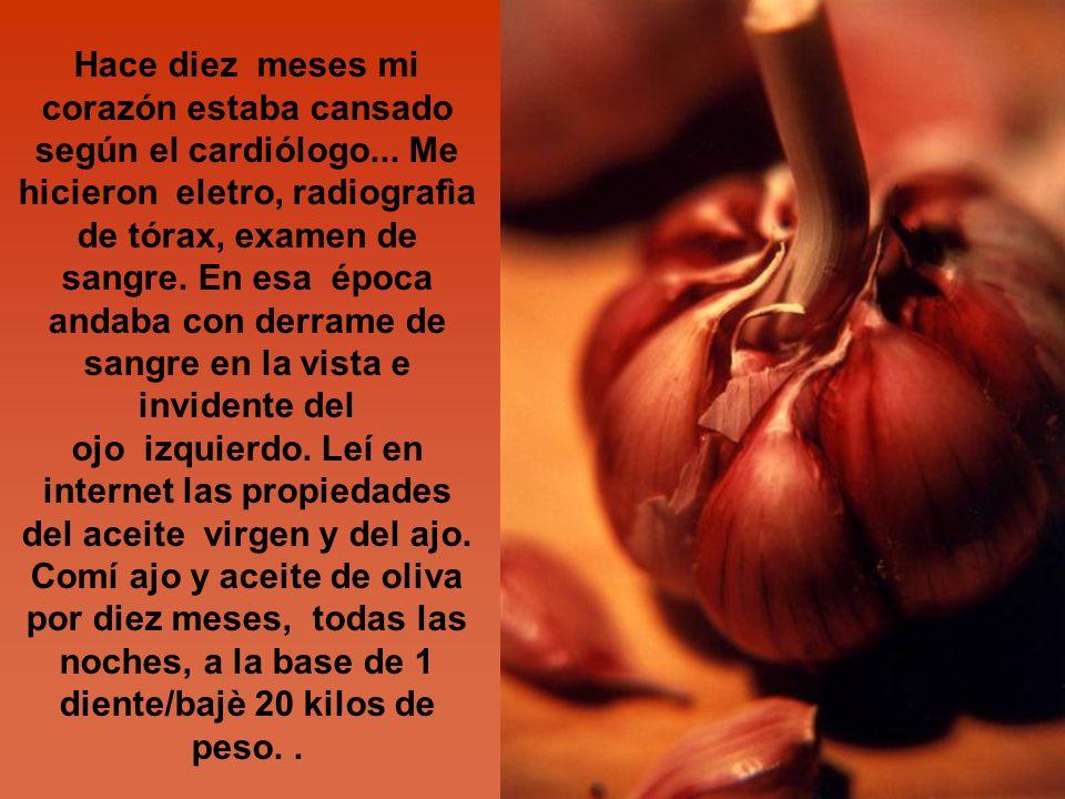 Esto es una sugerencia para personas que tienen problemas de colesterol y presión alta.