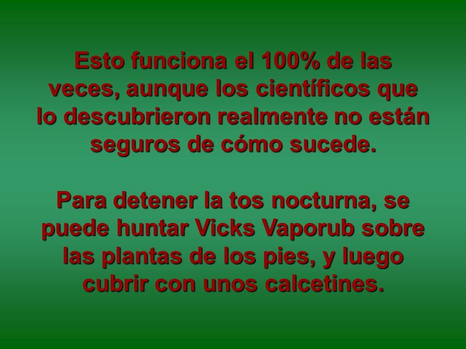 Hemos usado el Vicks Vaporub durante muchos años como remedio para muchas cosas: o Mentholatum durante muchos años como remedio para muchas cosas: Nar
