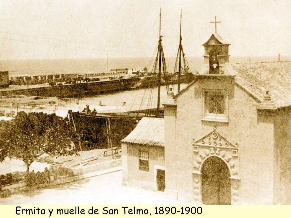 Alfredo Herrera también nos cuentas de los avatares del muelle de San Telmo: El muelle de Las Palmas apenas podía prestar escasos y deficientes servic