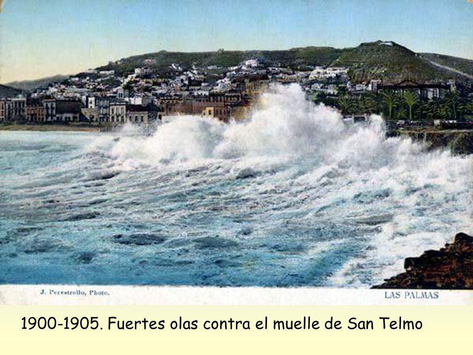 1895-1900. Reboso en el muelle de San Telmo