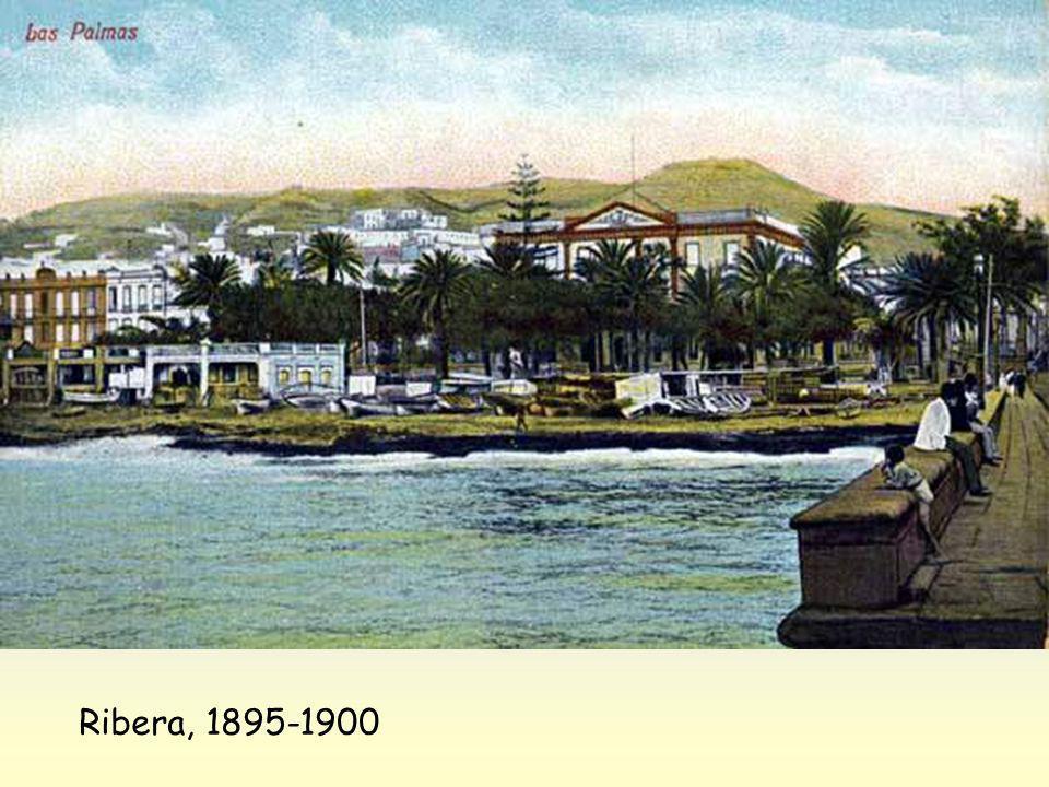 Temporal en San Telmo, 1900-1905
