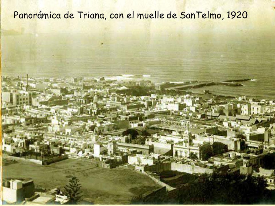 Escolleras, 1900-1905