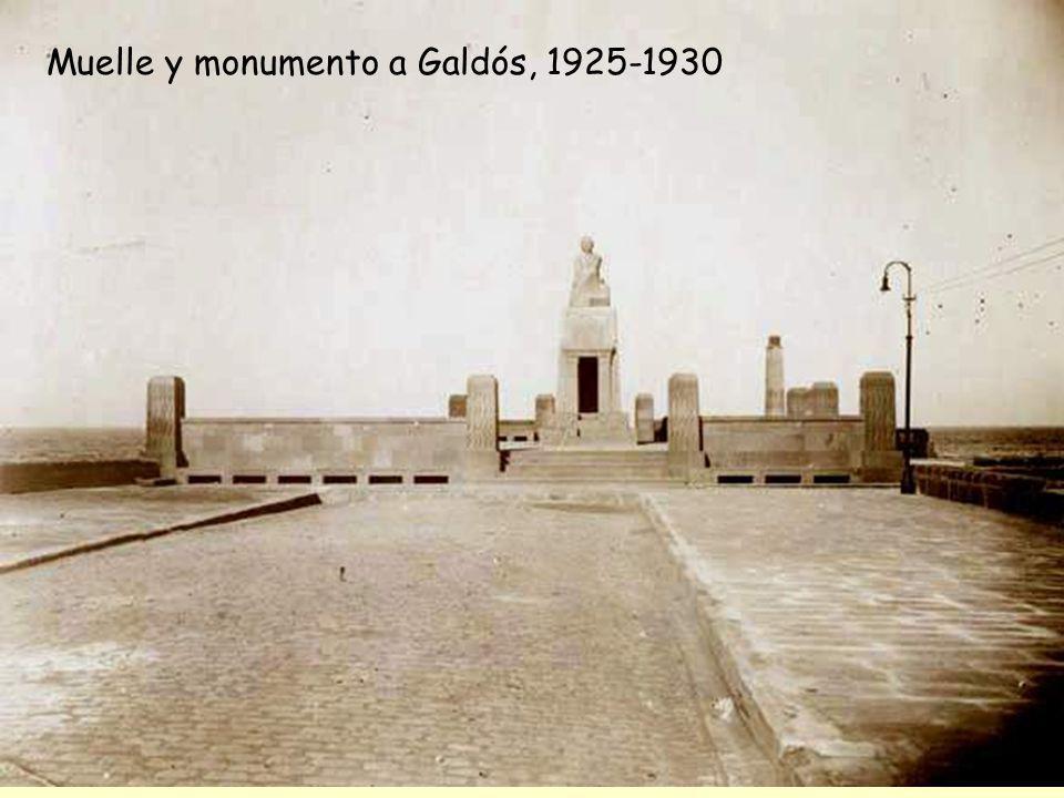 Mas adelante esta autora nos describe el monumento de Macho: La obra que nos ocupa, concluida en 1925, consistió en un elevado plinto troncopiramidal,