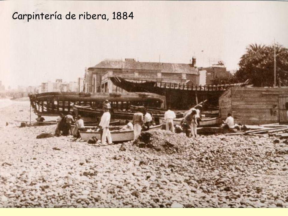 Carpintería de ribera, 1884