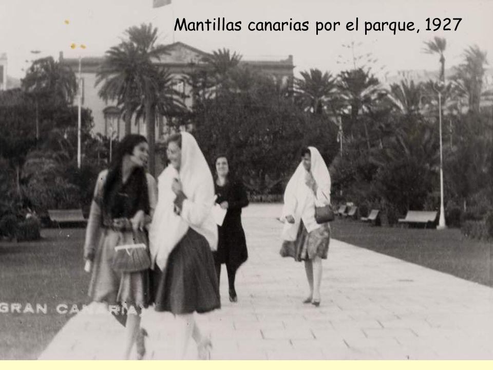 Paseo y música, 1935-1950