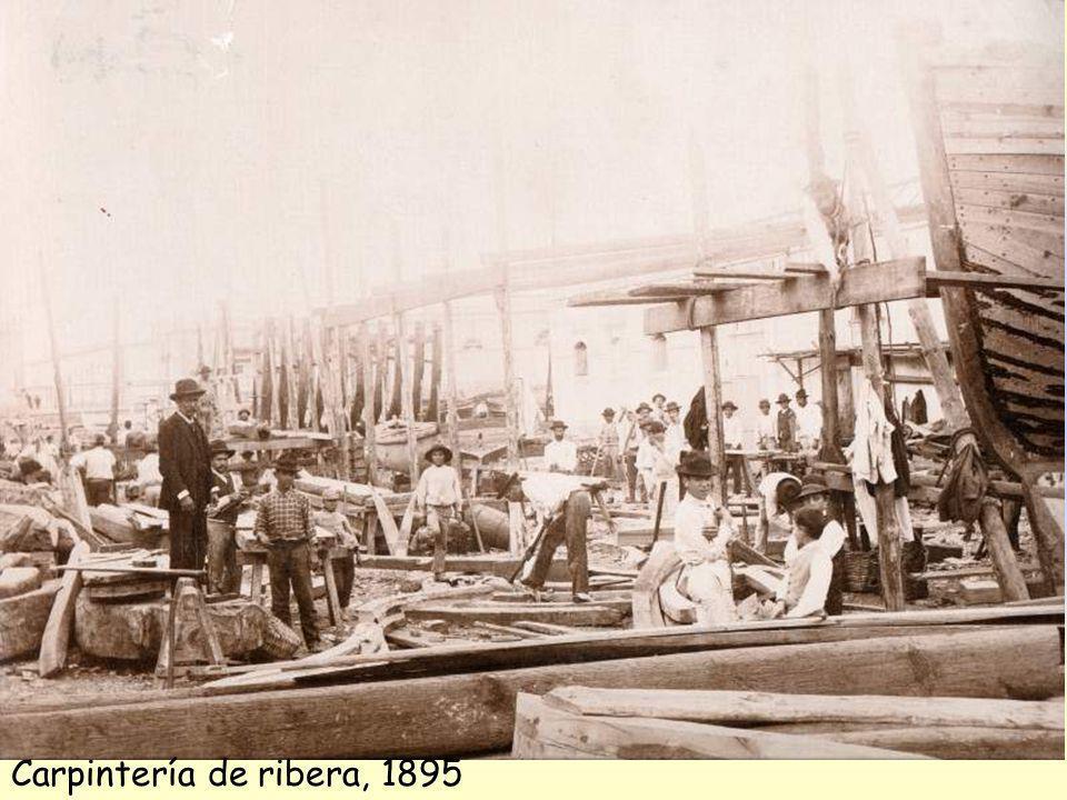Carpintería de ribera, 1895