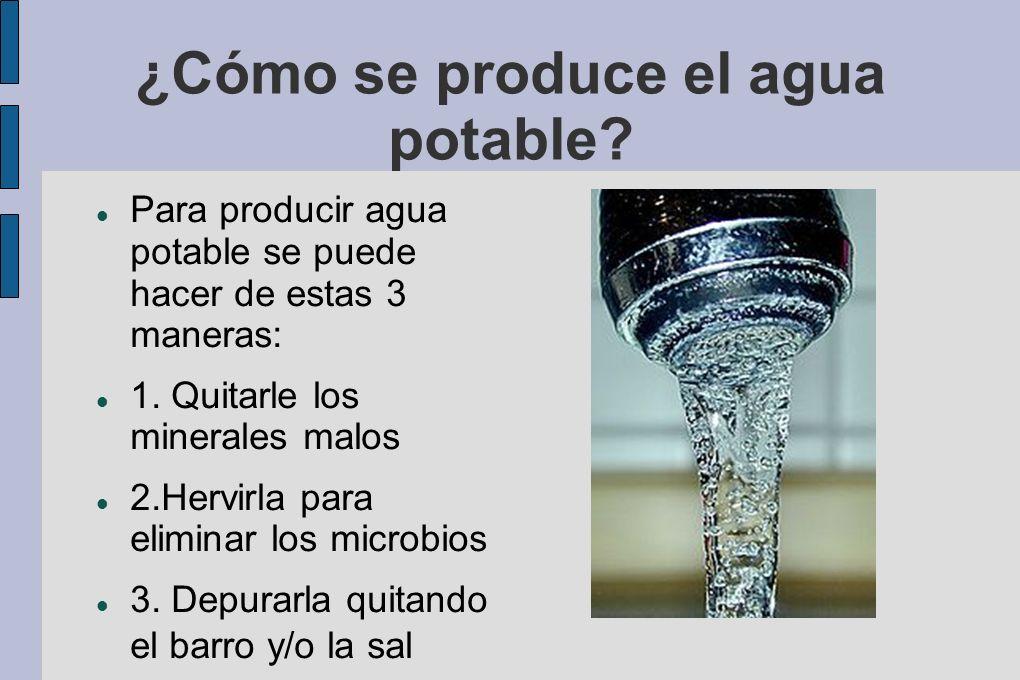 ¿Cuánta agua potable hay en el mundo.