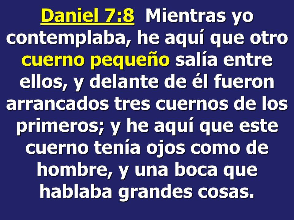 Notemos algo interesante: En Daniel 7 el orden de las bestias es: León, Oso, Leopardo y dragón En Apocalipsis 13 es: Dragón, Leopardo, Oso, León