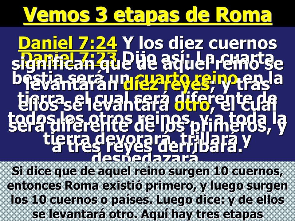 Subió entre los 10 cuernos o países en que se dividió el imperio romano en Europa en el año 476 D.C. Inglaterra Alemania Suiza Francia Italia Portugal