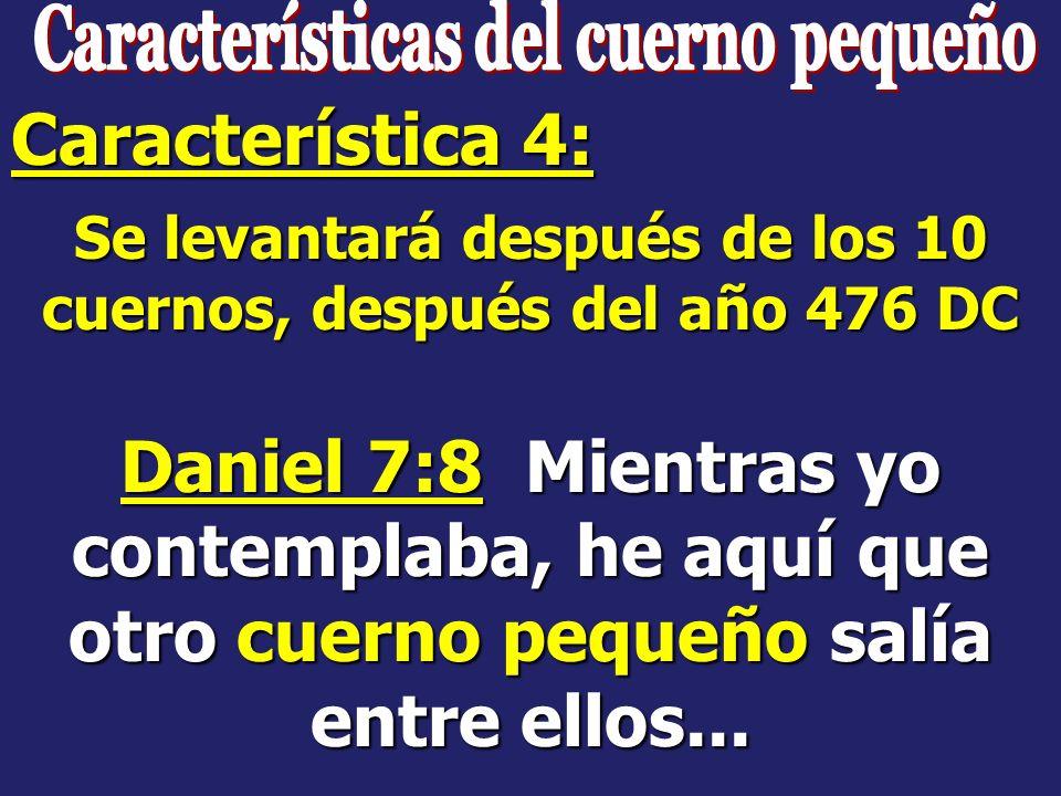Daniel 7:23 Dijo así: La cuarta bestia será un cuarto reino en la tierra, el cual será diferente de todos los otros reinos, y a toda la tierra devorar