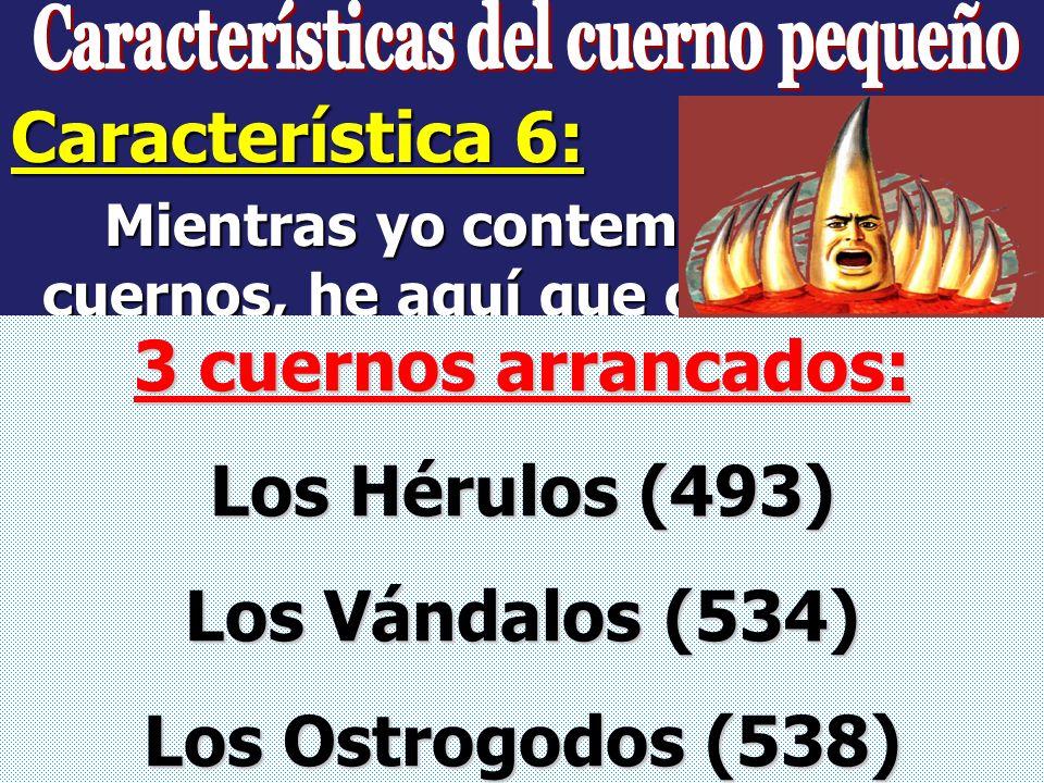 Daniel 7:25 Tiempo, Tiempos y ½ Tiempo: 1260 días o años Apocalipsis 12:6 1260 días o años Apocalipsis 13:5 42 meses x 30 1260 días o años Este poder,