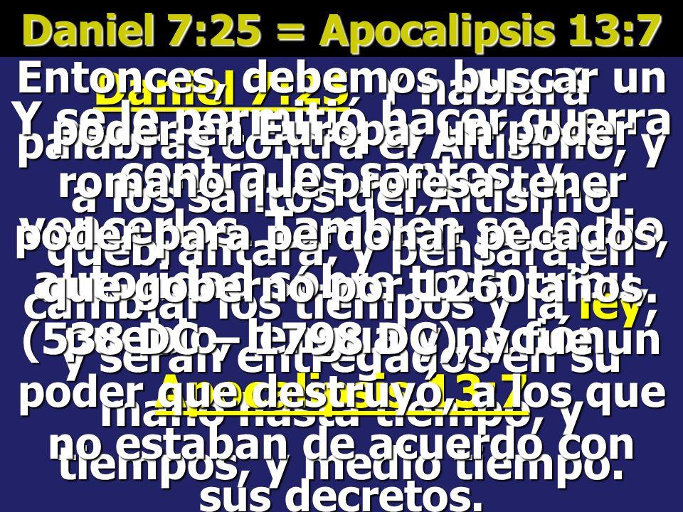 Apocalipsis 12:6 Y la mujer huyó al desierto, donde tiene lugar preparado por Dios, para que allí la sustenten por mil doscientos sesenta días. Entonc