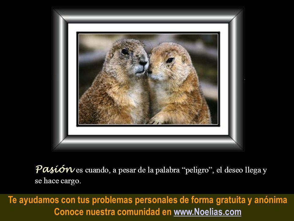 Te ayudamos con tus problemas personales de forma gratuita y anónima Conoce nuestra comunidad en www.Noelias.comwww.Noelias.com Voluntad es un deseo q