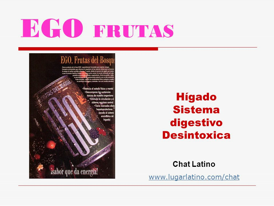 ego 10 Energía para hipertensos Chat Latino www.lugarlatino.com/chat