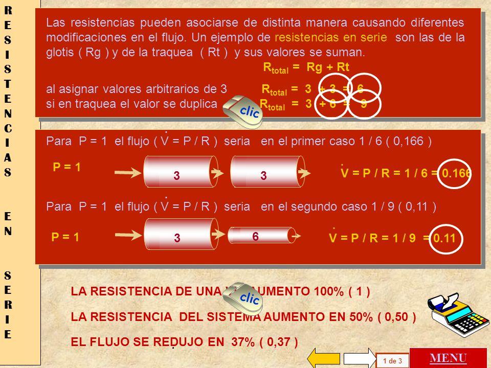 Cuando una vía de área 1 se ramifica en dos de 0.5 EL FLUJO SE REDUCE Cuando una vía de área 1 se ramifica en dos de 0.72 EL FLUJO ES IGUAL RAMIFICACI