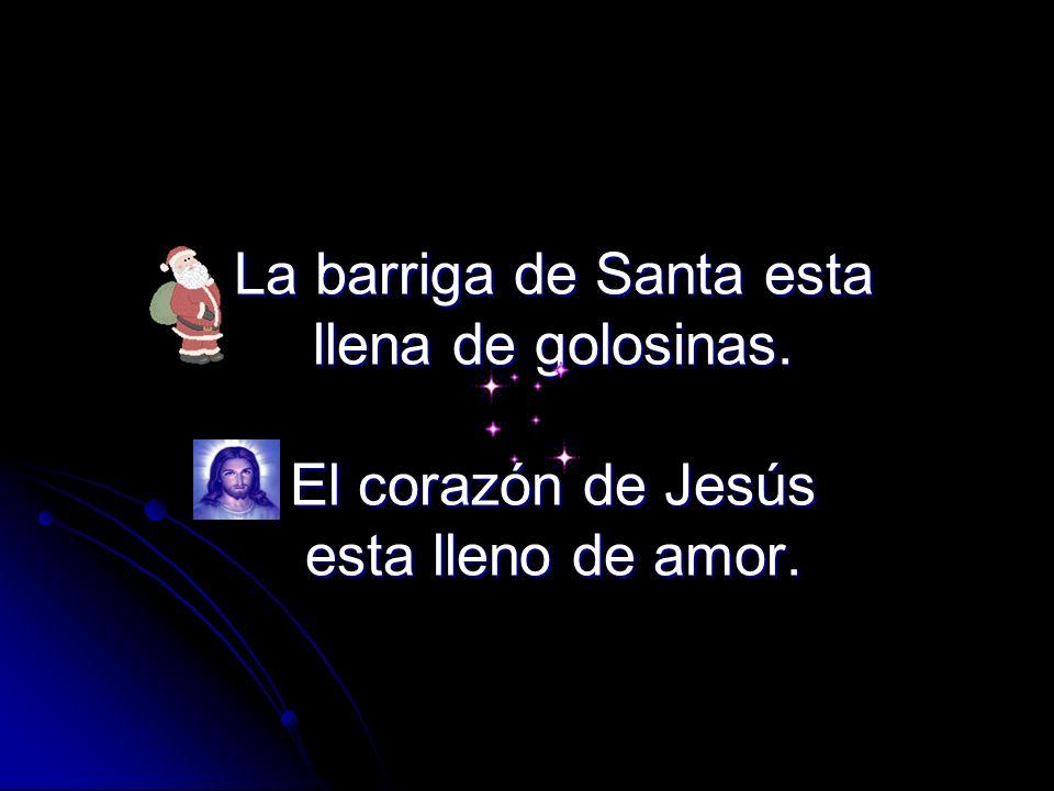 Santa siempre te pregunta ¿Cómo te llamas? Jesús ya sabia tu nombre antes de tu nacer. Sabe donde vives y tu futuro y hasta cuantos cabellos tienes en