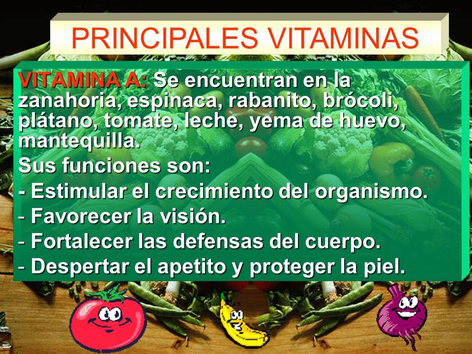 ALIMENTOS REGULADORES Son alimentos reguladores las vitaminas y minerales. Se les llama así porque regulan el funcionamiento del cuerpo. Estos importa