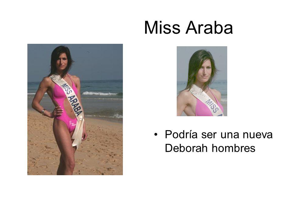 Miss Araba Podría ser una nueva Deborah hombres