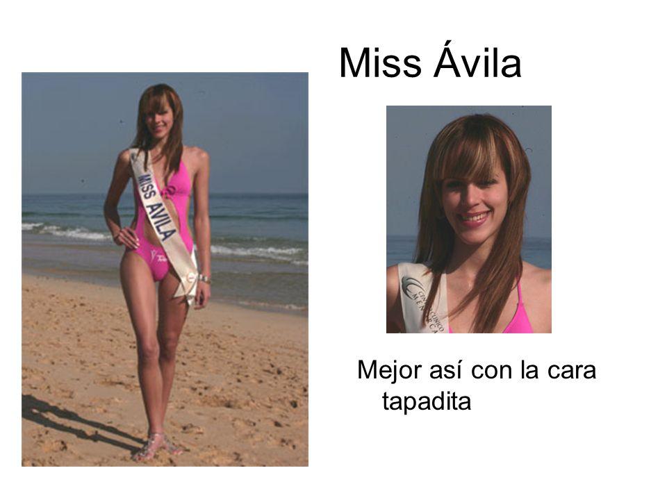 Miss Ávila Mejor así con la cara tapadita