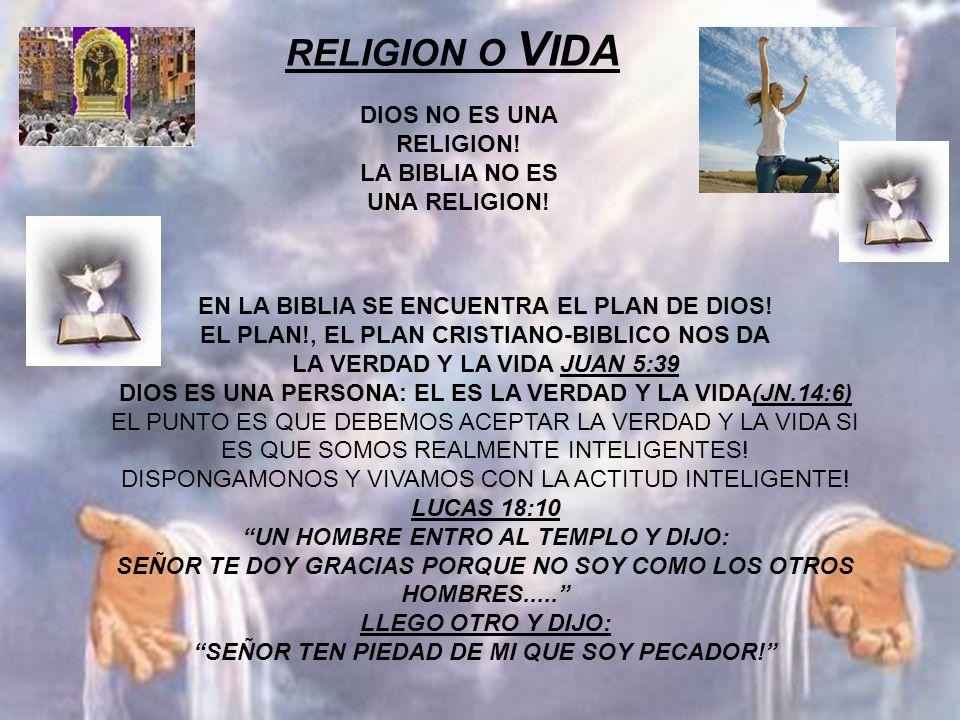 EN LA BIBLIA SE ENCUENTRA EL PLAN DE DIOS! EL PLAN!, EL PLAN CRISTIANO-BIBLICO NOS DA LA VERDAD Y LA VIDA JUAN 5:39 DIOS ES UNA PERSONA: EL ES LA VERD