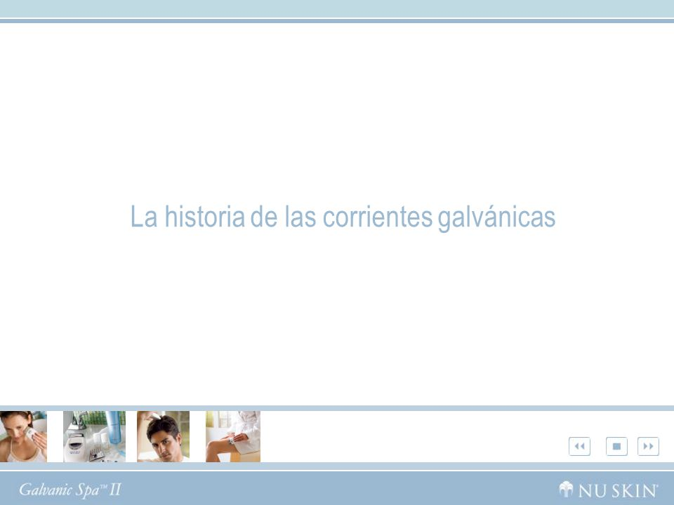 La historia de las corrientes galvánicas