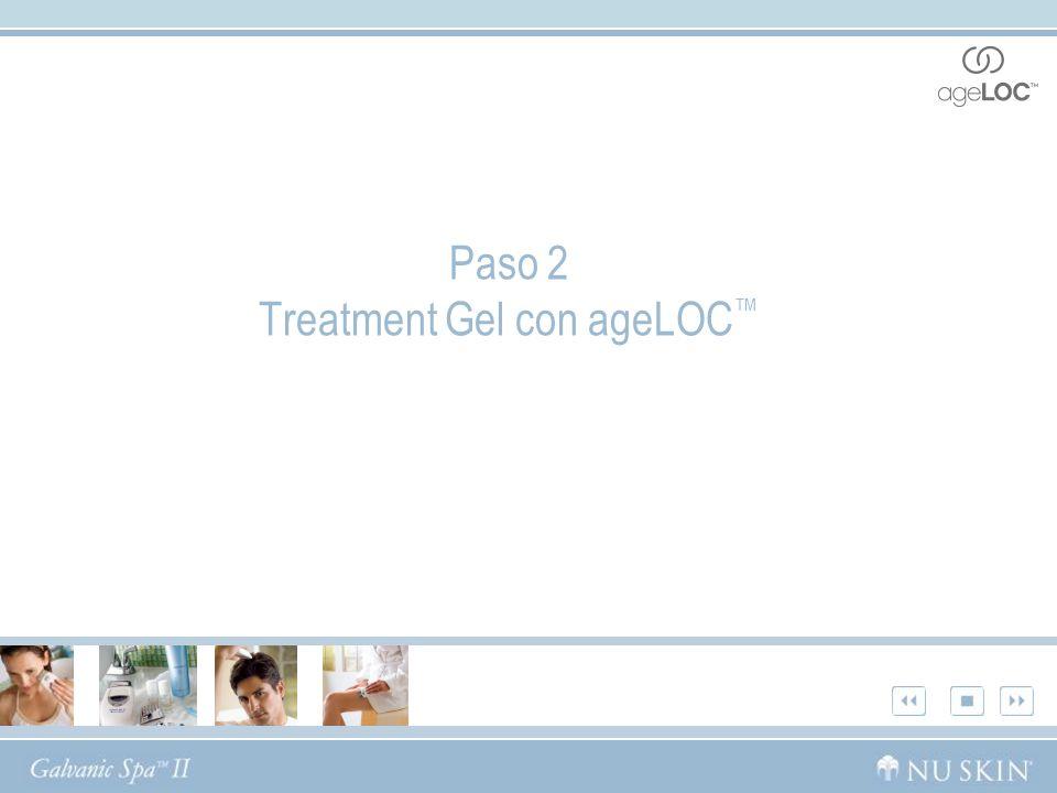 Paso 2 Treatment Gel con ageLOC