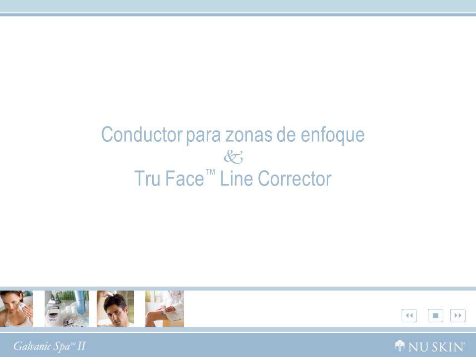 Conductor para zonas de enfoque Tru Face Line Corrector