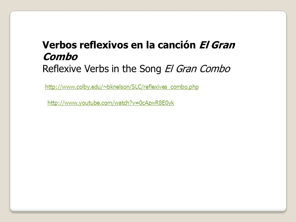Most reflexive verbs can also be used non-reflexively. When they are used without the reflexive pronouns, they are transitive verbsverbs that are used