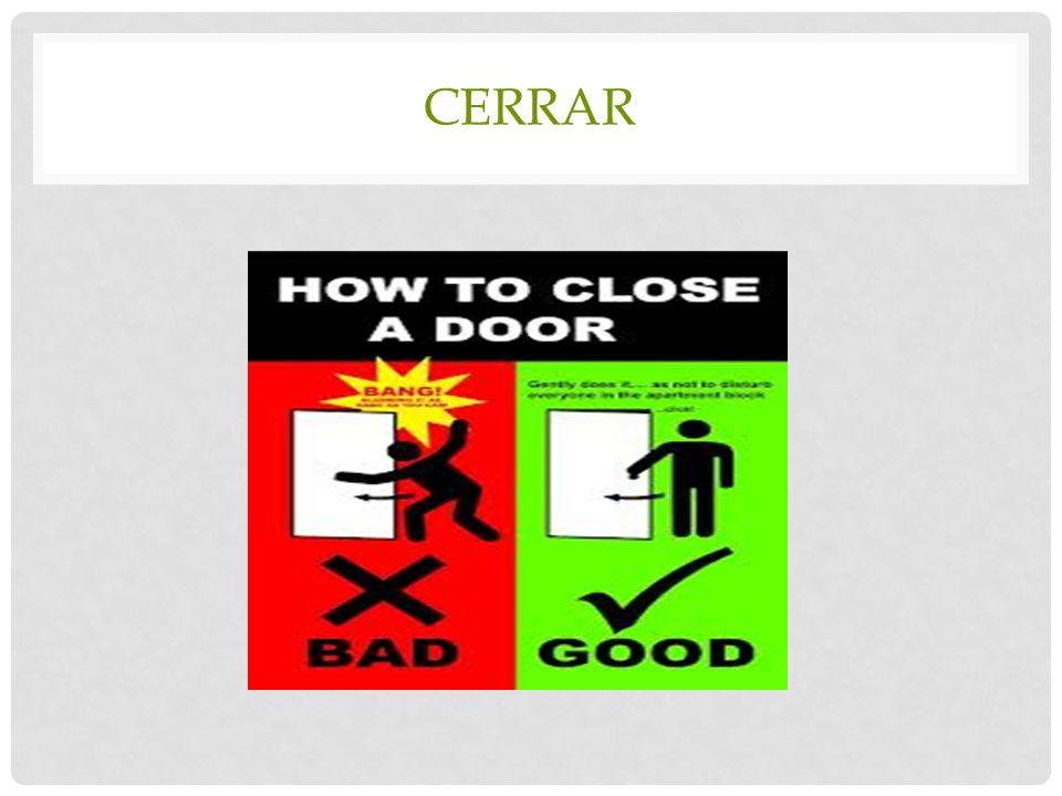 CERRAR