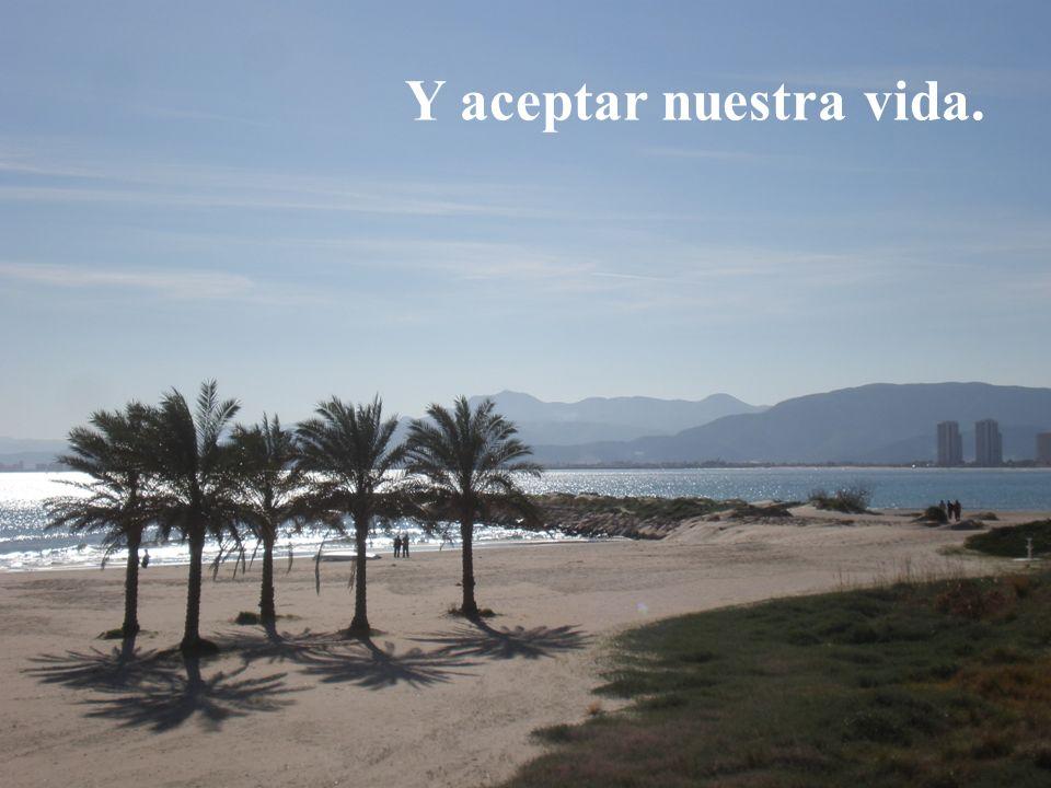 Foto Cullera 3 Y aceptar nuestra vida.
